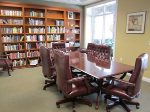 Sunset Bay conference room / library
