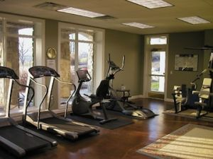 Sunset Bay exercise room/gym